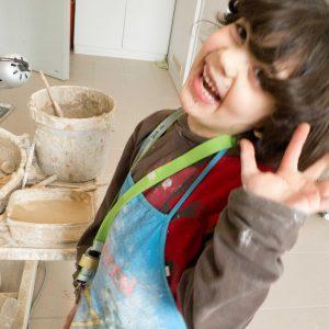 Kindergeburtstag in der Töpferwerkstatt - Tanos Keramik GbR