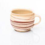 große Tasse, marmoriert