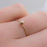 Ring, Gold, 8k