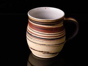 Tasse, Keramik, marmoriert