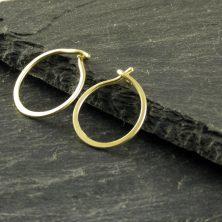 Gold-Creolen, mini