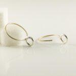Kreolen Silber Ringe